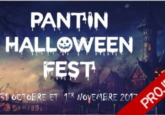 Affiche Pantin Halloween Fest